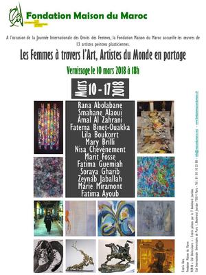 journ e internationale des droits des femmes 2018 fondation maison du maroc paris 75014. Black Bedroom Furniture Sets. Home Design Ideas