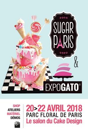 Sugar Paris Salon Du Cake Design Et De La Patisserie Parc