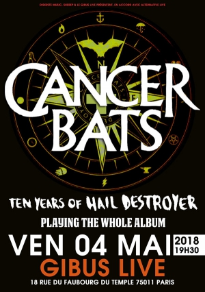 Cancer Bats @ Paris