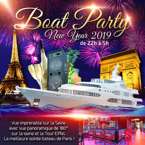 Boat Deluxe New Year 2019 Vue Panoramique Tour Eiffel Sur La Seine
