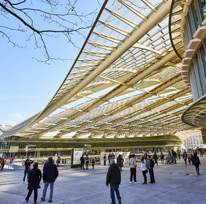 Marche De Noel Paris Canopee Des Halles Forum Des Halles Paris