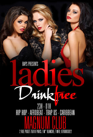 Ladies Drink free