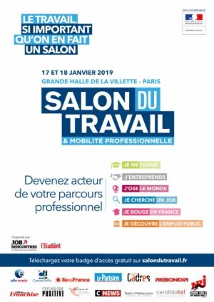 957bb882a21 Salon du Travail et de la Mobilité - Grande Halle et Parc de la ...