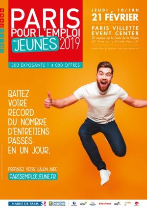 096e466929e Paris pour l Emploi des Jeunes 2019 - Paris Event Center