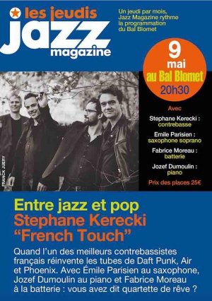 FRENCH TOUCH - Les Jeudis JAZZ MAGAZINE