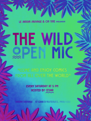 Stand Up Open Mic in English in Paris!