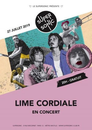 Lime Cordiale en concert au Supersonic (Free entry)