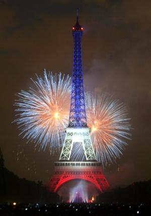Feu D Artifice Du 14 Juillet Paris 2019 Tour Eiffel Paris