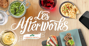L'AFTERWORK DU CABANA Tapas & happy-hour