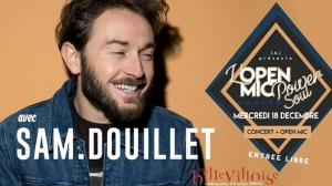 CAFE-CONCERT : OPEN MIC POWER SOUL FT. SAM DOUILLET