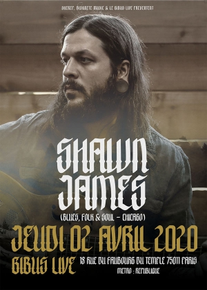 SHAWN JAMES + GUEST