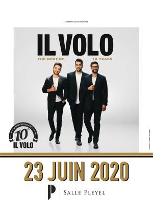 Il Volo 10eme Anniversaire Salle Pleyel Paris 75008 Sortir