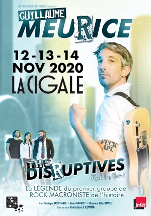 GUILLAUME MEURICE - DANS THE DISRUPTIVES