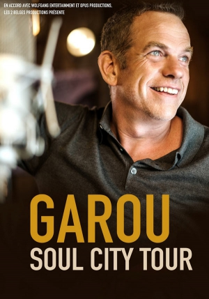 Garou - Soul City Tour à Paris