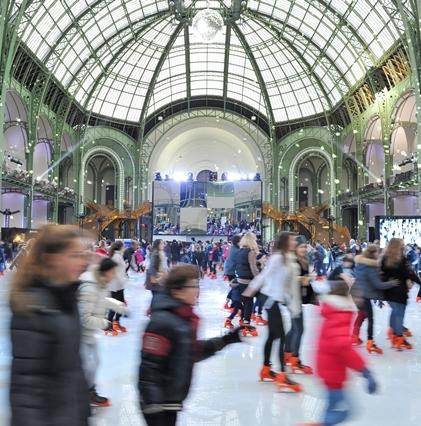 Grand Palais Des Glaces Une Patinoire Géante à Paris Grand Palais Paris 75008 Sortir à Paris Le Parisien Etudiant