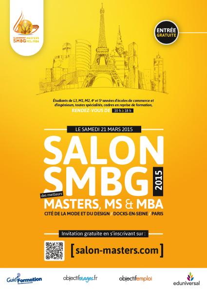 Salon smbg 2015 des meilleurs masters ms mba paris - Entree gratuite salon agriculture 2015 ...