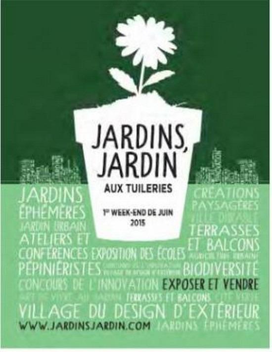 Jardins jardin aux tuileries dition 2015 jardin des for We jardin 2015