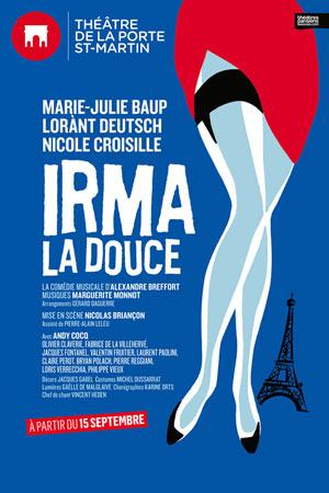 Irma la douce th tre de la porte saint martin paris - Theatre de la porte saint martin plan ...