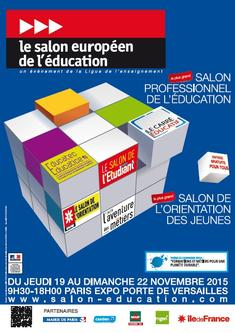 Salon europ en de l 39 ducation parc des expositions de la for Porte de versailles salon des vignerons independants 2015