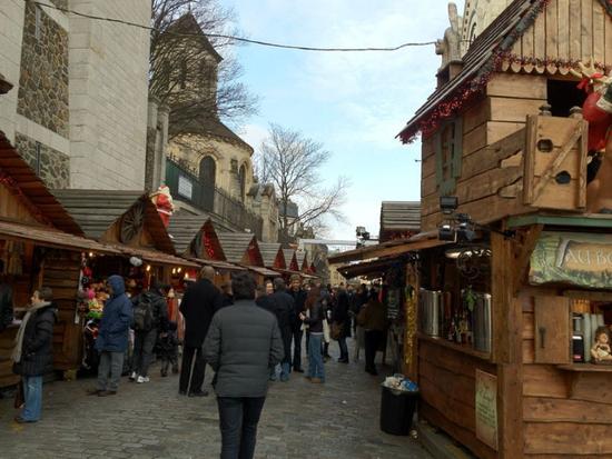 March de no l montmartre parvis du sacr coeur paris - Marche de noel de paris ...