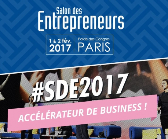 Salon des entrepreneurs 2017 palais des congr s paris for Salon des entrepreneurs paris
