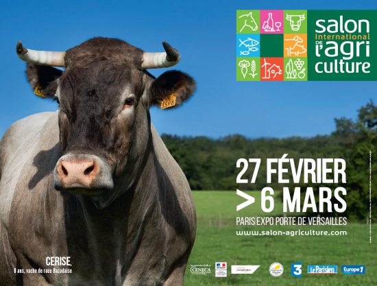 Salon international de l 39 agriculture 2016 parc des for Salon de l agriculture porte m