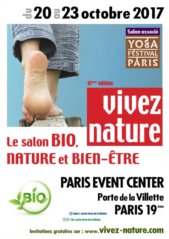 Salon vivez nature grande halle et parc de la villette for Salon yoga porte de la villette