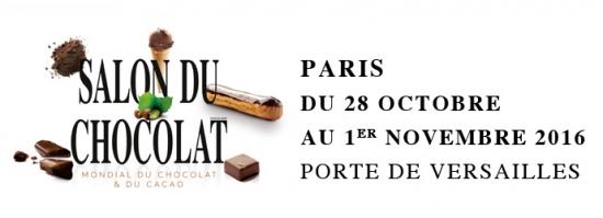 Salon du chocolat 2016 parc des expositions de la porte for L etudiant salon porte de versailles