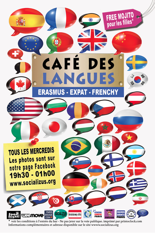 Cafe Des Langues Paris