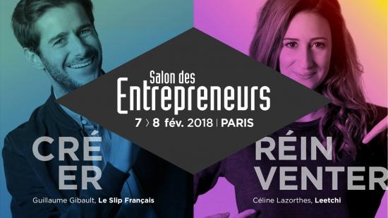 Salon des entrepreneurs 2018 palais des congr s paris for Salon des entrepreneurs paris 2016