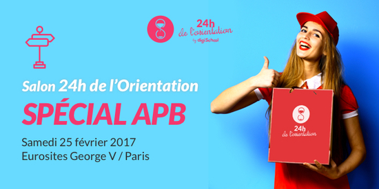 24h de l 39 orientation sp cial apb eurosites georges v for Salon de l orientation paris 2017