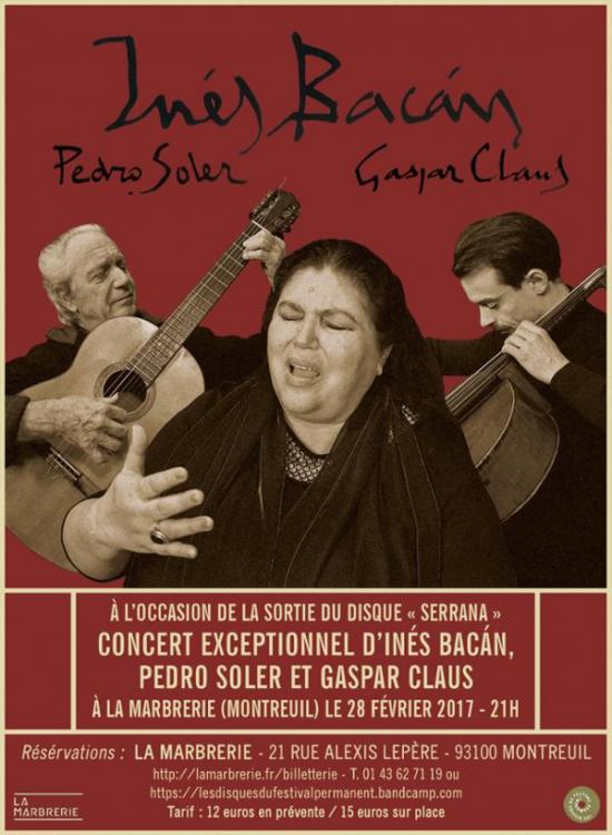 Pedro Soler, Gaspar Claus Ines Bacan