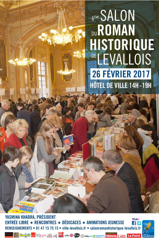 Salon du roman historique de levallois 2017 mairie for Salon e commerce paris 2017
