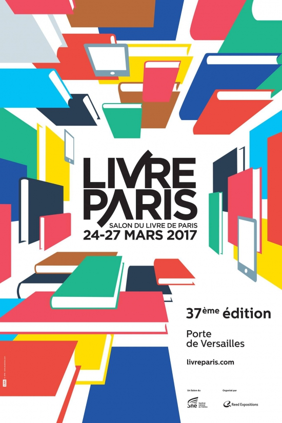 Salon du livre de paris 2017 parc des expositions de la for Porte de versailles salon tricot