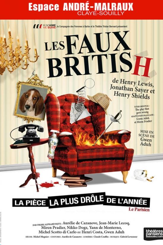 76dd0a58533 LES FAUX BRITISH - Espace André Malraux