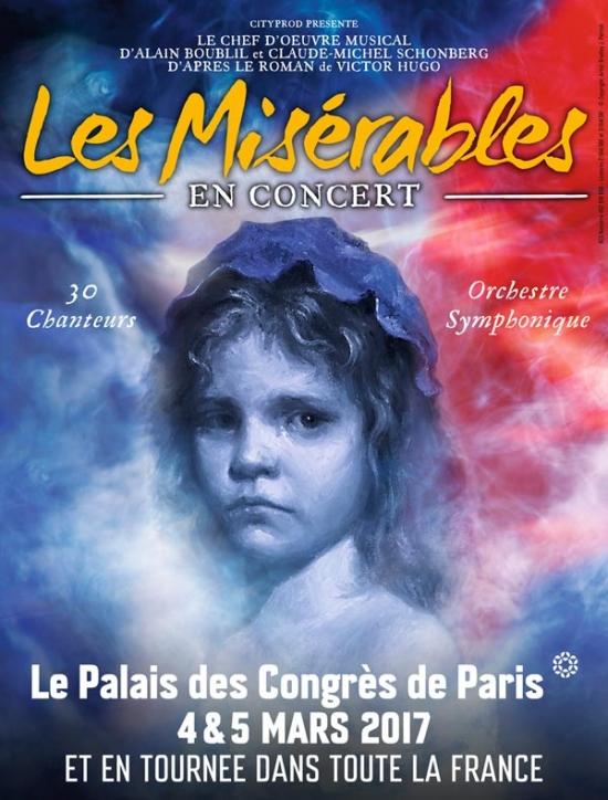 Les miserables en concert palais des congr s paris 75017 sortir paris le parisien etudiant - Date des soldes ete 2017 paris ...