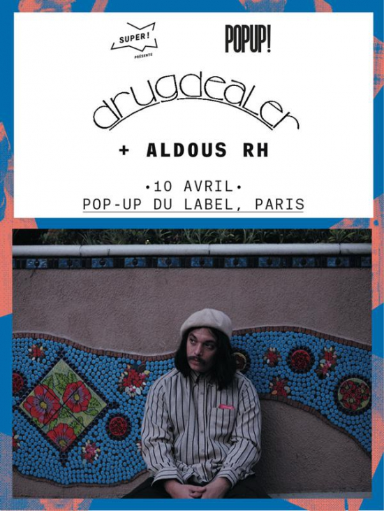 drugdealer aldous rh le pop up du label le pop up paris 75012 sortir france le. Black Bedroom Furniture Sets. Home Design Ideas