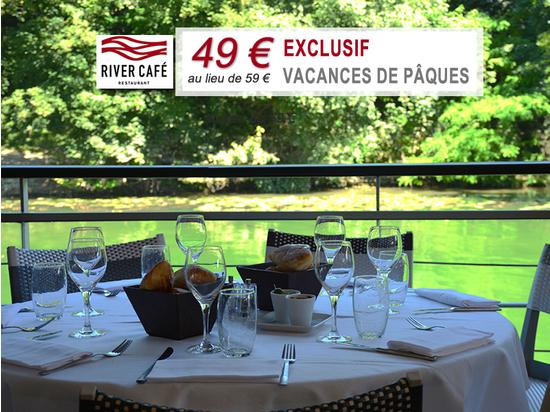 Les vacances de p ques en bord de seine avec un menu exclusif river caf issy les - Date vacances de paques 2017 ...