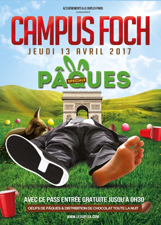 Imprimer campus foch sp ciale p ques duplex paris jeudi 13 avril 2017 sortir paris - C est quand paques 2017 ...