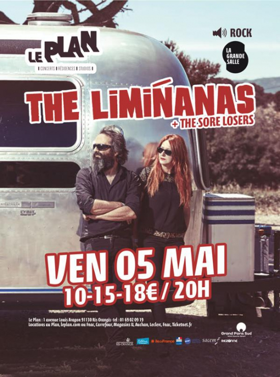 The liminanas 1 re partie the sore losers le plan for Garage automobile ris orangis