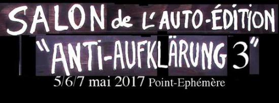 Salon de l 39 auto dition anti aufkl rung 3 point eph m re paris 75010 sortir paris le - Salon de l auto paris 2017 date ...