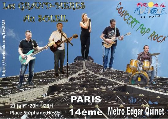 Les grand m res au soleil f te de la musique 2017 place st phane hessel paris 75014 - Fete des grand mere 2017 ...