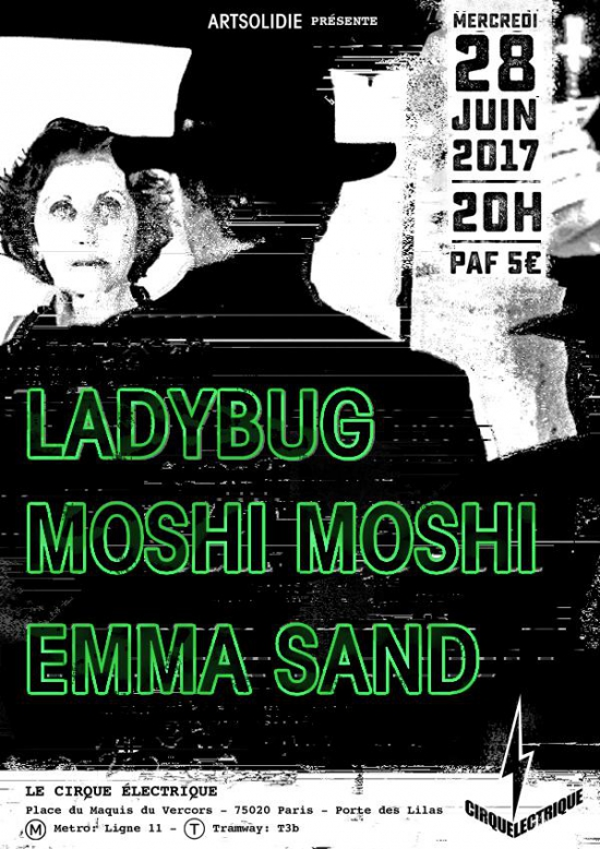 Imprimer concert ladybug moshi moshi emma sand - Cirque electrique porte des lilas programme ...