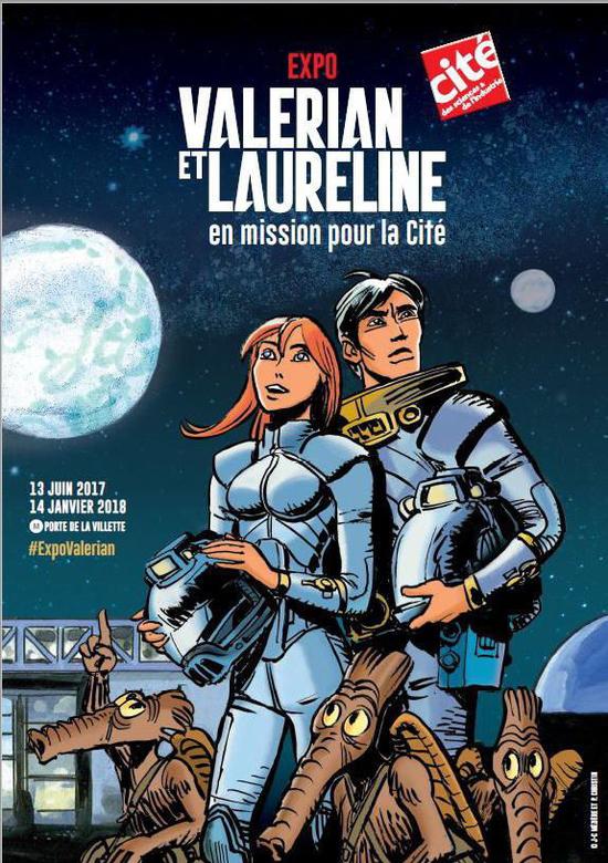 Valerian et Laureline en mission pour la cité