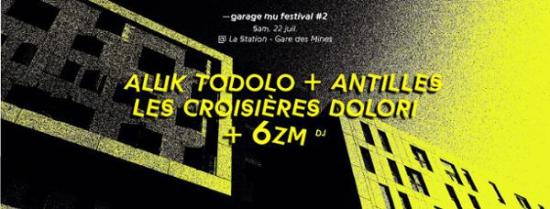 Aluk todolo antilles more la station gare des for Garage paris 18e