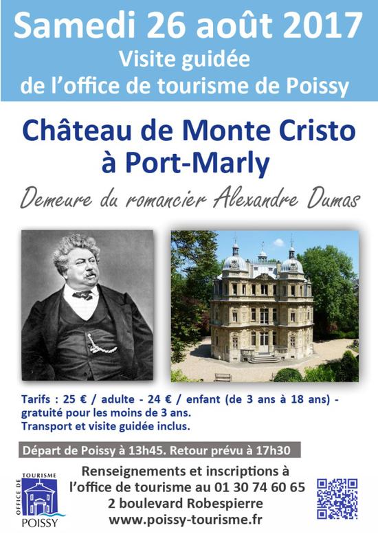 Visite du ch teau de monte cristo office de tourisme de poissy poissy 78300 sortir paris - Office de tourisme poissy ...