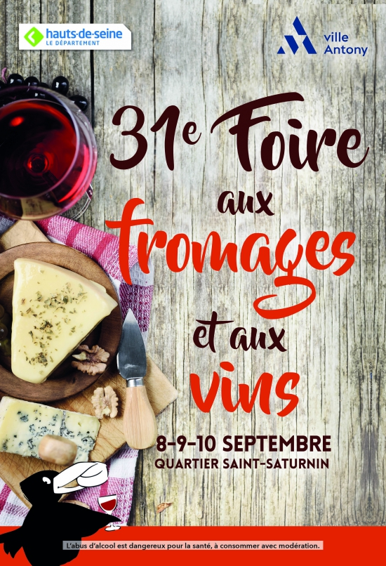imprimer 31 me foire aux fromages et aux vins d 39 antony quartier saint saturnin paris. Black Bedroom Furniture Sets. Home Design Ideas