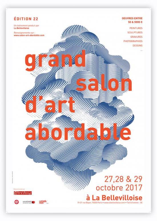 Grand salon d 39 art abordable 22 bellevilloise paris for Grand salon d art abordable