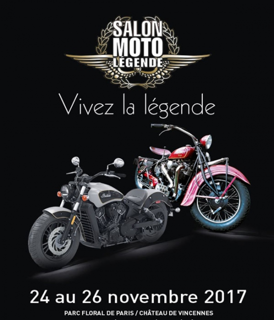 Salon moto legende 2017 parc floral de paris paris for Salon airsoft 2017 paris
