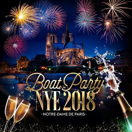 boat party nye 2018 notre dame de paris bateau paris historique all inclusive la. Black Bedroom Furniture Sets. Home Design Ideas